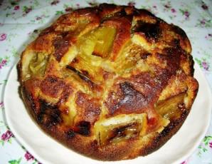 Имбирный пирог с ревенем - фото шаг 3