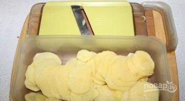 Запеканка картофельная с курицей в духовке - фото шаг 3