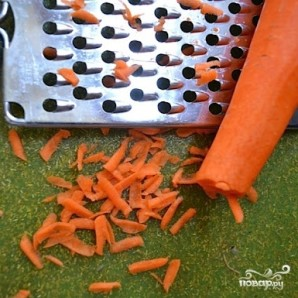 Овощной салат с макаронами - фото шаг 7