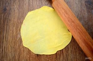 Кузикмяк (сытная лепешка с картофелем) - фото шаг 5