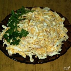 Салат из кальмаров с сыром - фото шаг 8