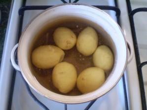 Картофель под чесночным соусом - фото шаг 2