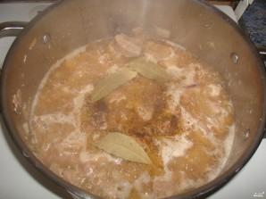 Картофель, тушенный со свининой - фото шаг 6