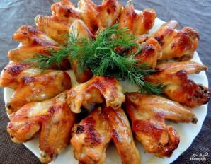 Куриные крылья на мангале - фото шаг 4