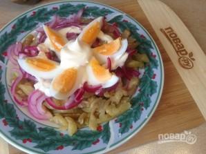 Салат из баклажана с яйцом - фото шаг 8