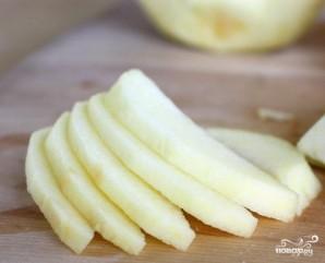 Овсяный крамбл с яблоком - фото шаг 1