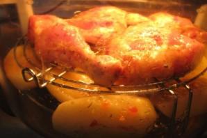 Курица с картошкой в аэрогриле - фото шаг 5