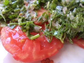 Карпаччо из помидоров - фото шаг 10