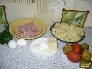 Запеканка из картофельного пюре с курицей - фото шаг 1