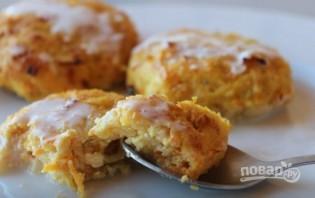 Морковно-яблочные сырники в ванильном соусе - фото шаг 6