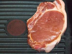 Свинина на сковороде-гриль - фото шаг 2
