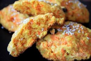 Морковное печенье с кунжутом - фото шаг 7