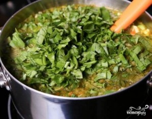 Щавелевый суп с яйцом - фото шаг 6