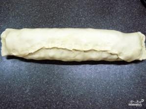 Яблочный штрудель из готового слоеного теста - фото шаг 8