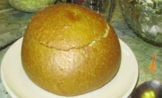 Тыквенный суп в хлебе - фото шаг 1
