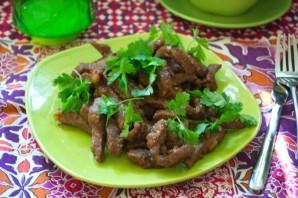 Мясо под соусом терияки - фото шаг 7