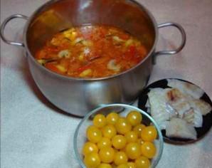 Средиземноморский рыбный суп - фото шаг 7