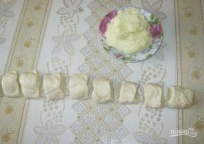 Дрожжевое тесто с картофелем - фото шаг 2