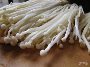 Салат с кальмаром и грибами - фото шаг 3