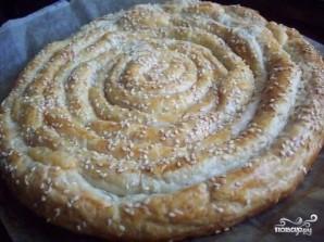 Слоеный пирог с сыром - фото шаг 6
