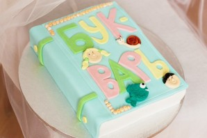 "Торт ""Букварь"" - фото шаг 6"
