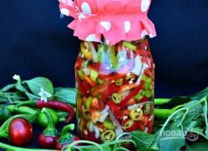 Салат на зиму из болгарского перца - фото шаг 4