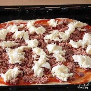 Пицца с тунцом - фото шаг 7