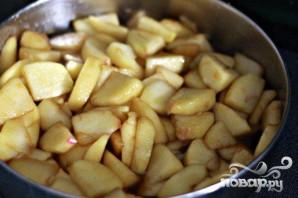 Яблочный коблер со сладким картофелем - фото шаг 4