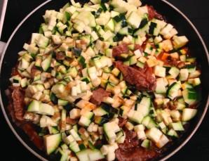 Говядина с кабачками - фото шаг 5