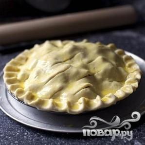 Пирог с клубникой и ревенем - фото шаг 3