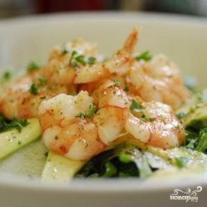 """Салат с креветками """"Вкусный"""" - фото шаг 11"""