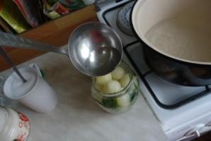 Маринованный лук по-польски на зиму - фото шаг 6