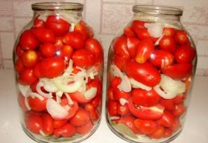 Закатка красных помидоров - фото шаг 2