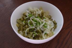 Салат из печени трески (консервированной) - фото шаг 3