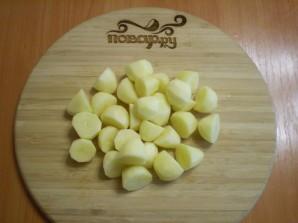 Картофель кусочками в духовке - фото шаг 3