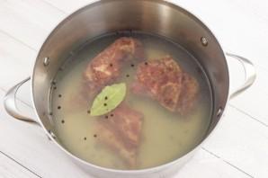 Гороховый суп со свининой - фото шаг 1