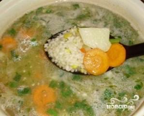 Суп с рисом - фото шаг 5