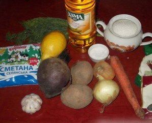 Свекольник рецепт классический с мясом - фото шаг 1