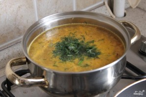 Суп с лисичками - фото шаг 6