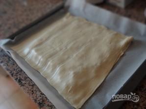Слоеный пирог с тунцом - фото шаг 9