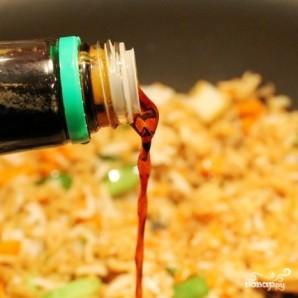 Креветки с рисом - фото шаг 6