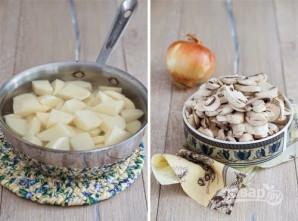 Пышные картофельные зразы - фото шаг 1