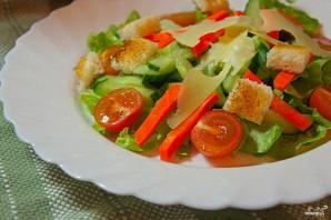 Салат пикантный с креветками - фото шаг 2