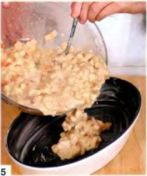 Пудинг из сдобного хлеба - фото шаг 5