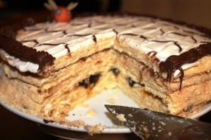 Медовый торт в заварном тесте - фото шаг 11