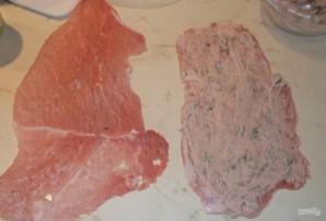 Свиные рулетики на шпажках - фото шаг 6