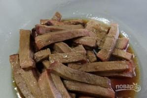 Салат с языком говяжьим - фото шаг 5