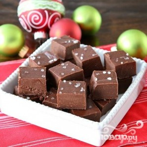 Шоколадный фадж (помадка) - фото шаг 7