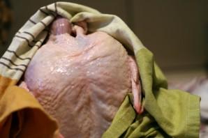 Ароматная курица в духовке - фото шаг 1