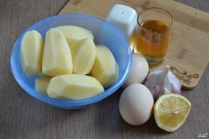 Картошка под чесночным соусом - фото шаг 1